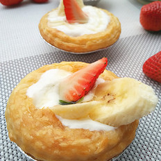 水果酸奶挞