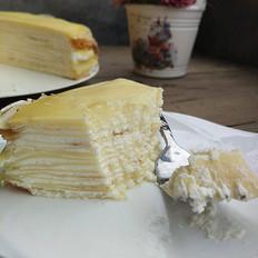 奶油千层蛋糕
