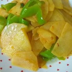 尖椒土豆片