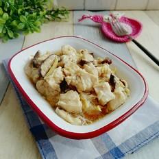 香菇蒸鸡胸肉
