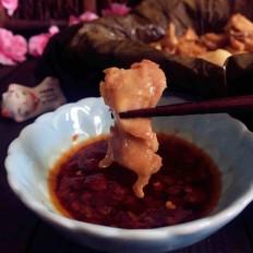 荷香蒸猴头菇鸡腿肉(附如何清洗猴头菇)