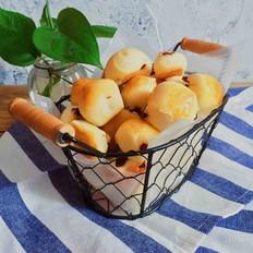 益力多蔓越莓面包块的做法