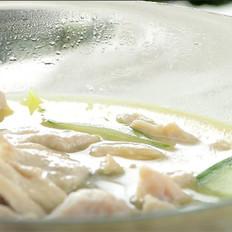 菌汤黄瓜肉片汤