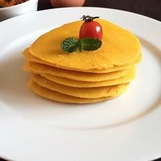 奶香玉米面饼