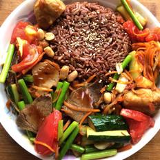 红米盖浇饭