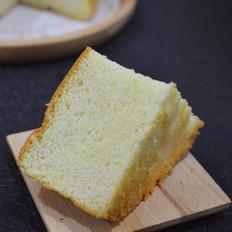 玉米面戚风蛋糕(6寸)