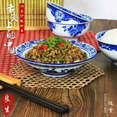 米饭杀手肉末炒酸豇豆