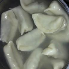 家庭版韭菜鸡蛋水饺