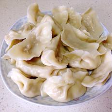 鲜肉茭白水饺