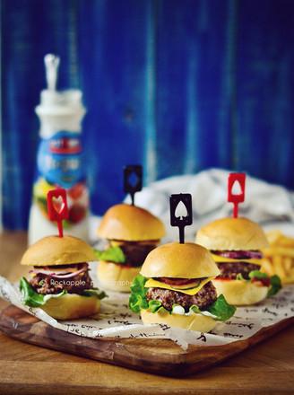 苏打牛肉迷你汉堡的做法
