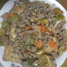 肉沫豆腐块