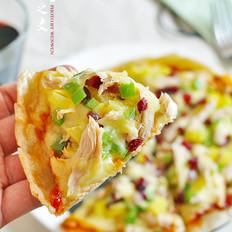 金枪鱼薄底披萨的做法