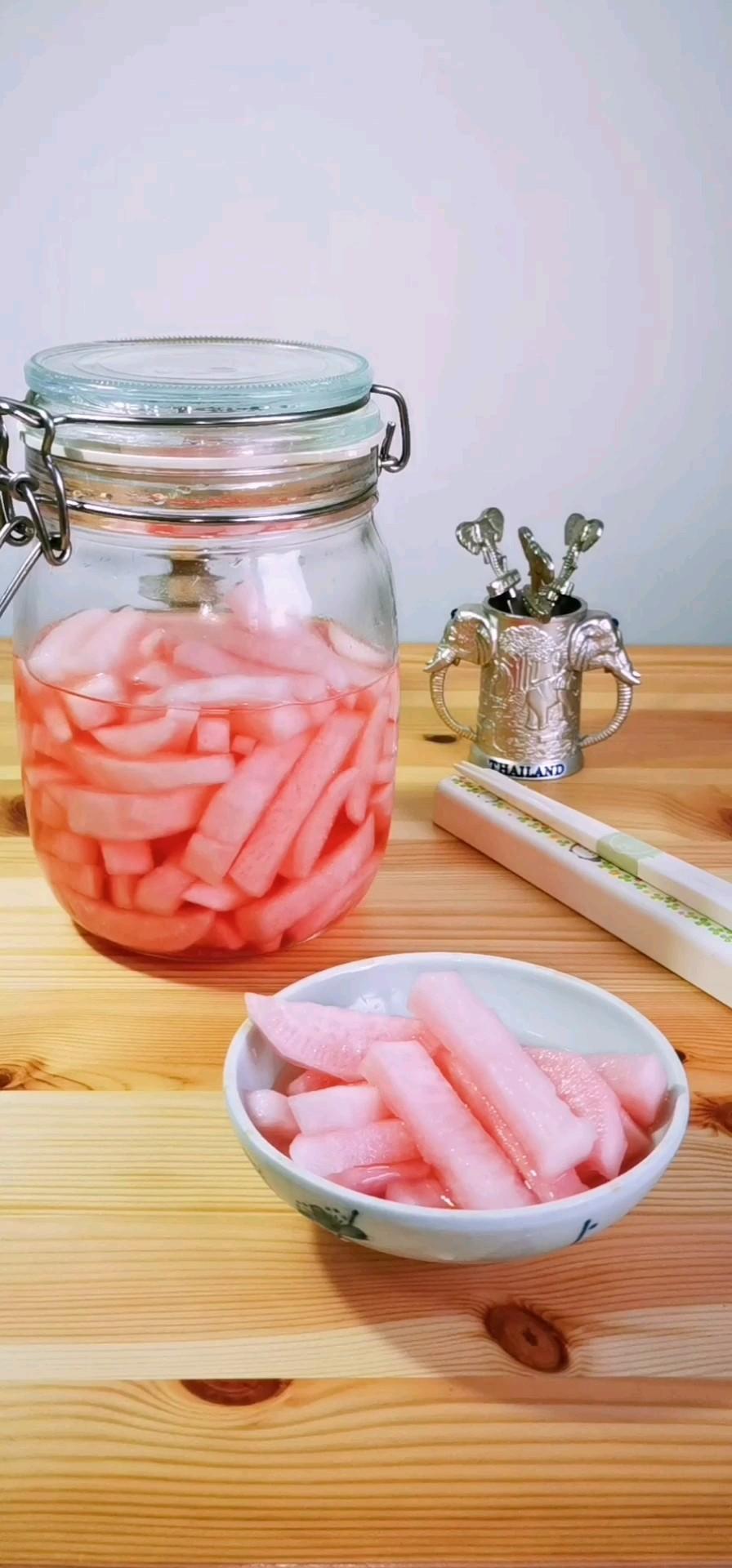春天里要做好看的泡菜—胭脂萝卜
