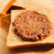 超级简单美味的汉堡肉三明治