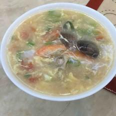 疙瘩海鲜汤