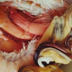 泡菜海鲜锅
