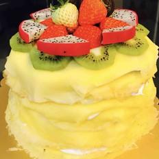 草莓奥利奥千层蛋糕