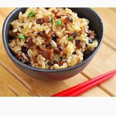 香菇肉丝炒饭