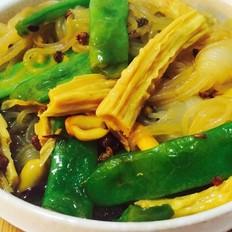 扁豆腐竹魔芋丝