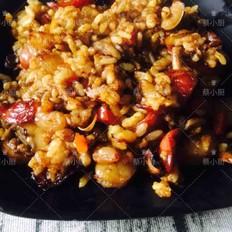 火腿虾仁炒饭