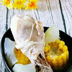 冬瓜玉米鸡腿汤