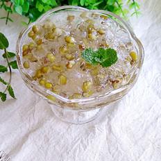 雪燕绿豆羹
