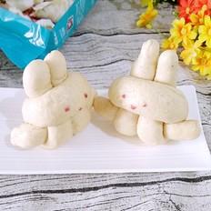 白鲨面粉可爱的小兔子