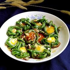 豆角鹌鹑蛋