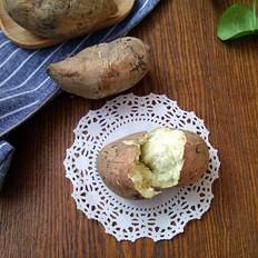 空气炸锅烤白薯