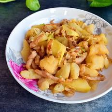 柚子皮炒肉