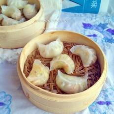 水晶磷虾饺子