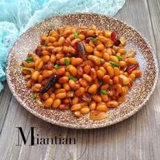 蚝油焖黄豆
