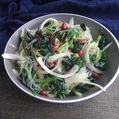爽口的凉拌菠菜