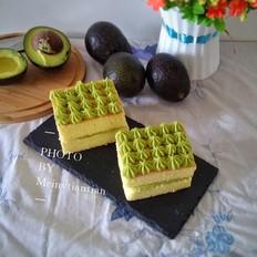 鳄梨夹心蛋糕