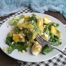 果蔬沙拉#早餐