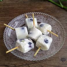 袖珍蓝莓酸奶棒冰