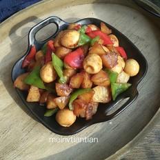 红烧土豆鹌鹑蛋