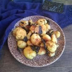 干锅海苔小土豆