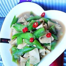 丝瓜干豆腐