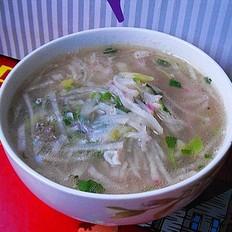 虾皮萝卜汤