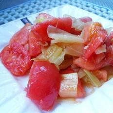 素炒西红柿