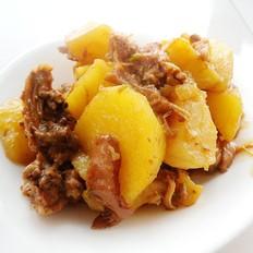 土豆烧兔肉