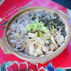 砂锅干白菜