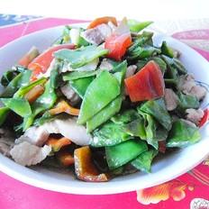 红椒烧扁豆