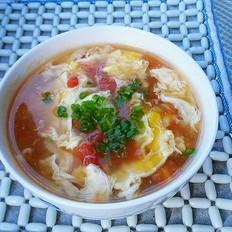 番茄蛋花豆腐羹