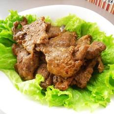 胡椒酱煎肉