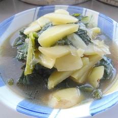 小白菜土豆片