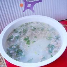 羊肉片冬瓜汤