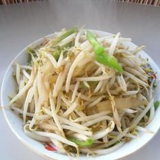 洋葱青椒绿豆芽