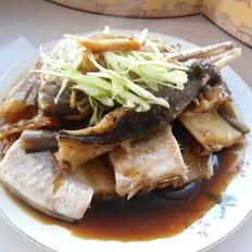 葱姜鳗鱼干
